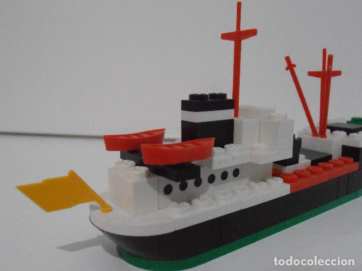 Juegos construcción - Tente: TENTE PESQUERO CAROLE FISHING TRAWLER, EXIN HASBRO REF 302, COMPLETO CAJA INSTRUCCIONES, EEUU - Foto 5 - 119285535
