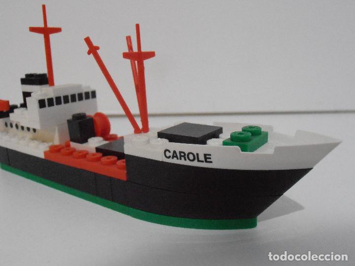 Juegos construcción - Tente: TENTE PESQUERO CAROLE FISHING TRAWLER, EXIN HASBRO REF 302, COMPLETO CAJA INSTRUCCIONES, EEUU - Foto 6 - 119285535