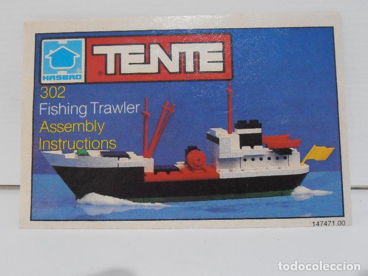 Juegos construcción - Tente: TENTE PESQUERO CAROLE FISHING TRAWLER, EXIN HASBRO REF 302, COMPLETO CAJA INSTRUCCIONES, EEUU - Foto 7 - 119285535