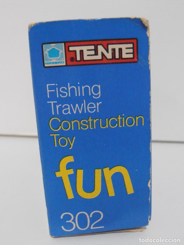 Juegos construcción - Tente: TENTE PESQUERO CAROLE FISHING TRAWLER, EXIN HASBRO REF 302, COMPLETO CAJA INSTRUCCIONES, EEUU - Foto 9 - 119285535