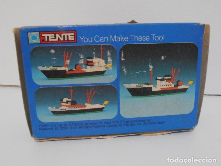 Juegos construcción - Tente: TENTE PESQUERO CAROLE FISHING TRAWLER, EXIN HASBRO REF 302, COMPLETO CAJA INSTRUCCIONES, EEUU - Foto 10 - 119285535