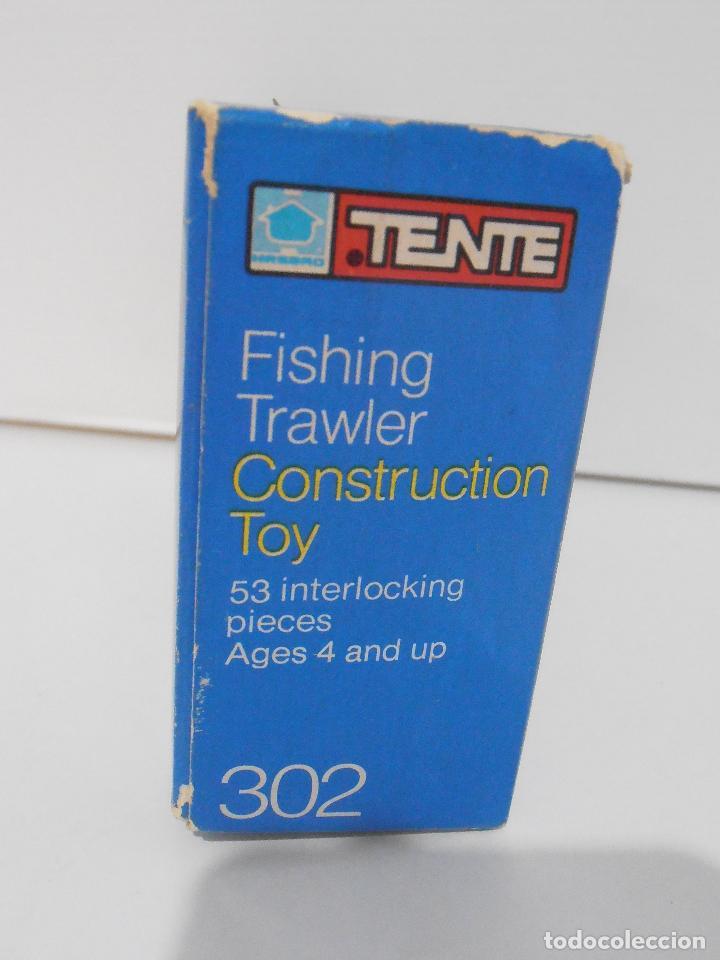 Juegos construcción - Tente: TENTE PESQUERO CAROLE FISHING TRAWLER, EXIN HASBRO REF 302, COMPLETO CAJA INSTRUCCIONES, EEUU - Foto 11 - 119285535