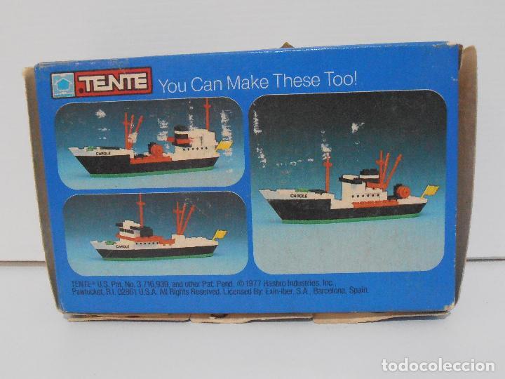 Juegos construcción - Tente: TENTE PESQUERO CAROLE FISHING TRAWLER, EXIN HASBRO REF 302, COMPLETO CAJA INSTRUCCIONES, EEUU - Foto 13 - 119285535