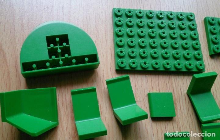 Juegos construcción - Tente: Lote piezas Tente antiguas color verde - Foto 2 - 119425175