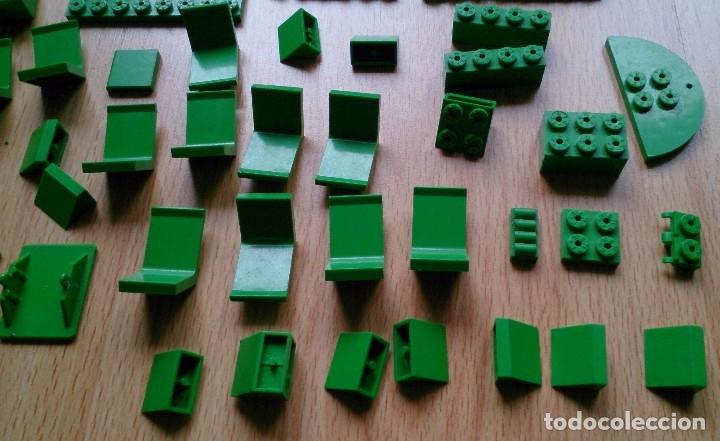 Juegos construcción - Tente: Lote piezas Tente antiguas color verde - Foto 3 - 119425175