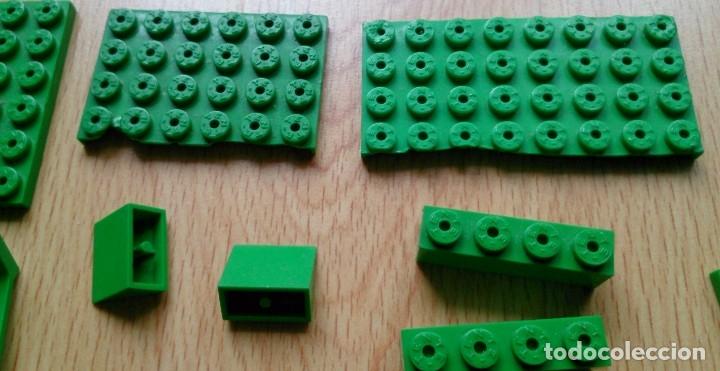Juegos construcción - Tente: Lote piezas Tente antiguas color verde - Foto 5 - 119425175