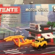 Juegos construcción - Tente: INSTRUCCIONES TENTE MOTOR CHECK. Lote 119667978