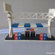 Juegos construcción - Tente: TENTE MICRO ESTACION DE SERVICIO REF 0423 GASOLINERA CONSTRUCCIONES FICHAS. Lote 119855995