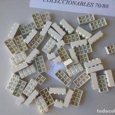 Juegos construcción - Tente: LOTE DE 53 PIEZAS TENTE BLANCAS BLOQUES VARIOS ORIGINALES EXIN LINES BROS. Lote 232258505