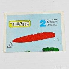 Giochi costruzione - Tente: TENTE EXIN MANUAL DE INSTRUCCIONES DE MONTAJE COMBI Nº 2 TRANSPORTE ANFIBIO OCEAN AÑO 1980. Lote 120447155