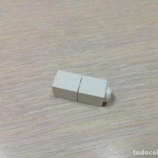 Juegos construcción - Tente: TENTE BLOQUE 1X1 BLANCO X2 PIEZAS CJ4. Lote 135150505
