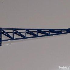 Juegos construcción - Tente: TENTE EXIN : ANTIGUA PIEZA COLA DE HELICOPTERO ALIGERADA COLOR AZUL AÑOS 70. Lote 121112119