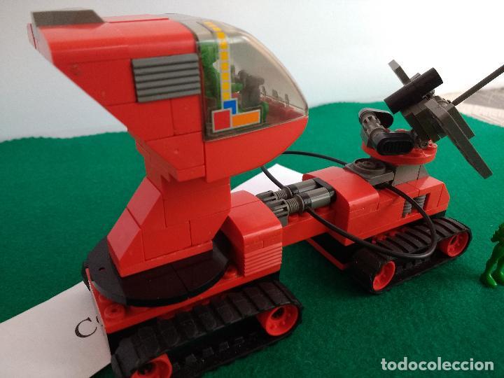 Juegos construcción - Tente: TENTE COSMIC STRONER REF 0437 EXIN MODELO ORIGINAL COMPLETO ASTRO RUTA ALFA SCORPION - Foto 4 - 121583999