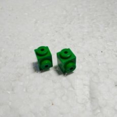 Jeux construction - Tente: VERDE JACENA ENGANCHE 1X1 - TENTE (2 UNIDADES). Lote 129662724