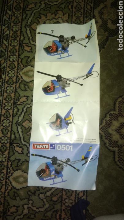 Juegos construcción - Tente: Tente helicóptero. Folleto - Foto 2 - 124469851