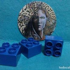 Juegos construcción - Tente: 3 PIEZAS - CUBOS TENTE ... 3 X 3 CENTIMETROS.. Lote 124577611