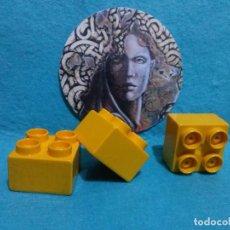Juegos construcción - Tente: 3 PIEZAS - CUBOS TENTE ... 3 X 3 CENTIMETROS.. Lote 124577615