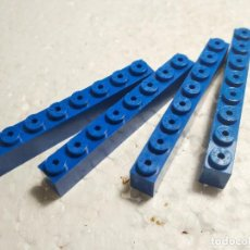 Juegos construcción - Tente: AZUL JACENA 8X1 - TENTE (4 UNIDADES). Lote 126047835