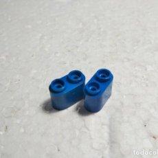 Juegos construcción - Tente: AZUL CHIMENEA TUBO - TENTE (2 UNIDADES). Lote 126049719