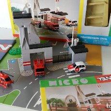 Juegos construcción - Tente: MICRO TENTE REFª 0434 - PROTECCION CIVIL. Lote 126134779