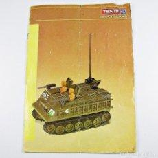 Juegos construcción - Tente: TENTE SCORPION MANUAL INSTRUCCIONES MONTAJE 0543 SCORPIONES DE ACERO AÑO 1982 (INCOMPLETO). Lote 126199927
