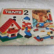 Juegos construcción - Tente: CAJA TENTE 2 AÑOS 80. BASTANTE COMPLETA.. Lote 126789731
