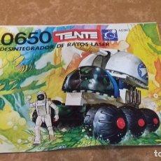Juegos construcción - Tente: INSTRUCCIONES TENTE 0650, DESINTEGRADOR DE RAYOS LASER.. Lote 126951043