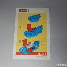 Juegos construcción - Tente: TENTE COMBI 2 REF.6 BLUE 1 INSTRUCCIONES DE MONTAJE. Lote 129287187