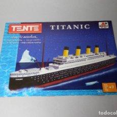 Juegos construcción - Tente: TENTE TITANIC 70113 INSTRUCCIONES DE MONTAJE. Lote 149448446