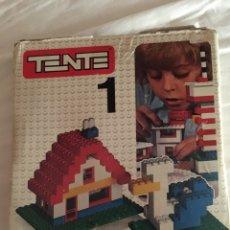 Juegos construcción - Tente: CAJA TENTE 1. Lote 130800987