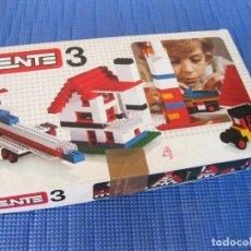 Juegos construcción - Tente: CAJA NÚMERO 3 DE TENTE CON PIEZAS SUELTAS - REFERENCIA 0403. Lote 131227955
