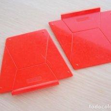 Juegos construcción - Tente: TENTE ALA INCLINADA GRANDE. COLOR ROJO. Lote 133371338