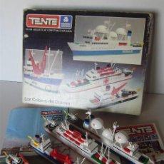 Juegos construcción - Tente: TENTE EXIN REF.0540 LOS COLOSOS DEL OCEÁNO 100% COMPLETO. Lote 133733830
