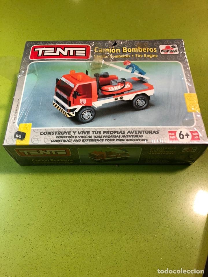 TENTE CAMIÓN DE BOMBEROS 1998 BORRAS REF 70036 (Juguetes - Construcción - Tente)