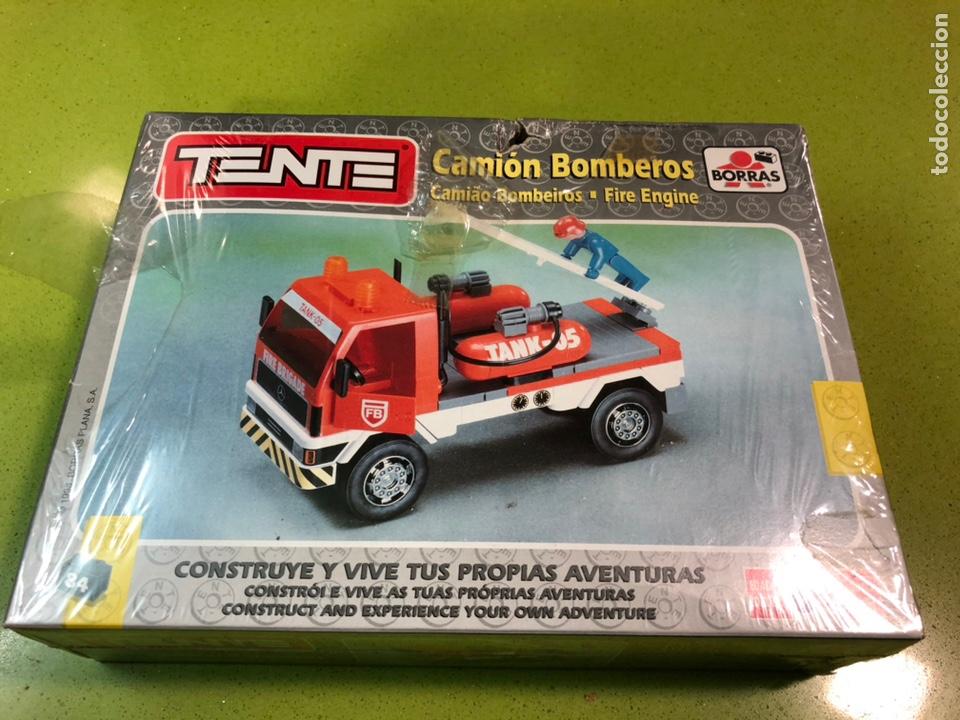 Juegos construcción - Tente: Tente camión de bomberos 1998 borras ref 70036 - Foto 2 - 135171197