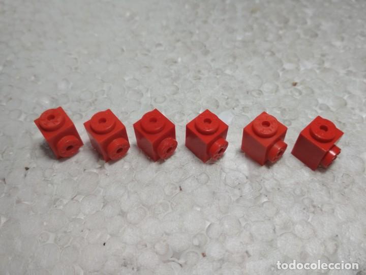 ROJO JACENA ENGANCHE 1X1 - TENTE (6 UNIDADES) (Juguetes - Construcción - Tente)