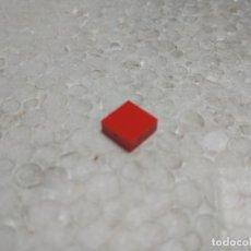 Juegos construcción - Tente: ROJO BALDOSA 1X1- TENTE. Lote 177832389
