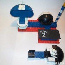 Juegos construcción - Tente: TENTE ASTRO REF 0655 TORRE CONTROL TRAFICO ORBITAL EXIN MODELO ORIGINAL . Lote 137240646