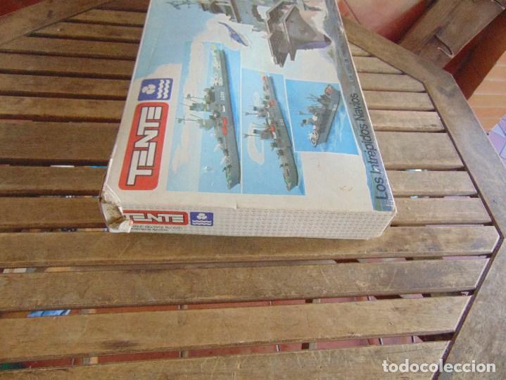 Juegos construcción - Tente: LOTE DE PIEZAS DE TENTE MAS CAJA LOS INTREPIDOS NAVIOS - Foto 3 - 138099942