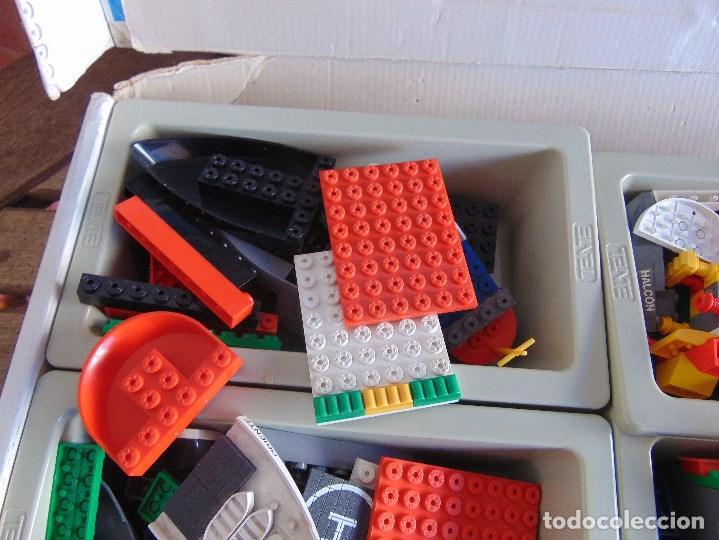 Juegos construcción - Tente: LOTE DE PIEZAS DE TENTE MAS CAJA LOS INTREPIDOS NAVIOS - Foto 10 - 138099942