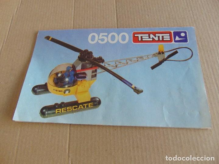 Juegos construcción - Tente: LOTE DE PIEZAS DE TENTE MAS CAJA LOS INTREPIDOS NAVIOS - Foto 18 - 138099942