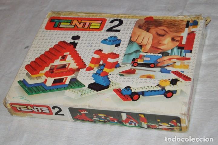 Juegos construcción - Tente: Vintage - GRAN LOTE PIEZAS Y ACCESORIOS TENTE - más CAJA vacía SET 2 REF. 0402 - EXIN MADE IN SPAIN - Foto 17 - 139175902