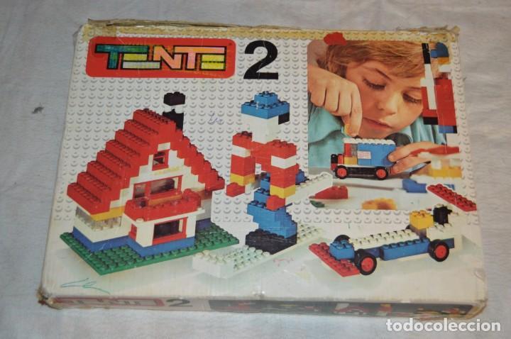 Juegos construcción - Tente: Vintage - GRAN LOTE PIEZAS Y ACCESORIOS TENTE - más CAJA vacía SET 2 REF. 0402 - EXIN MADE IN SPAIN - Foto 18 - 139175902