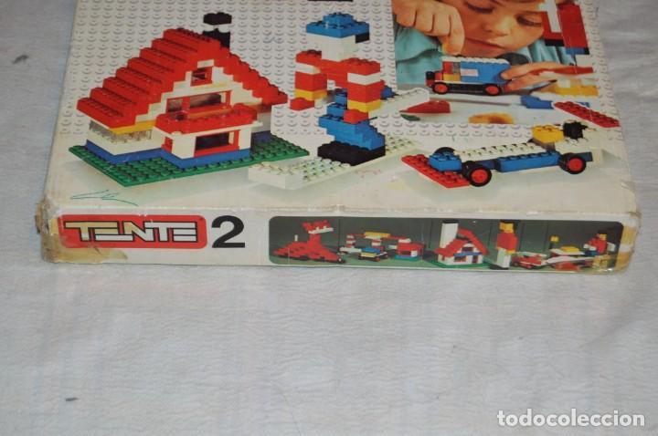 Juegos construcción - Tente: Vintage - GRAN LOTE PIEZAS Y ACCESORIOS TENTE - más CAJA vacía SET 2 REF. 0402 - EXIN MADE IN SPAIN - Foto 19 - 139175902