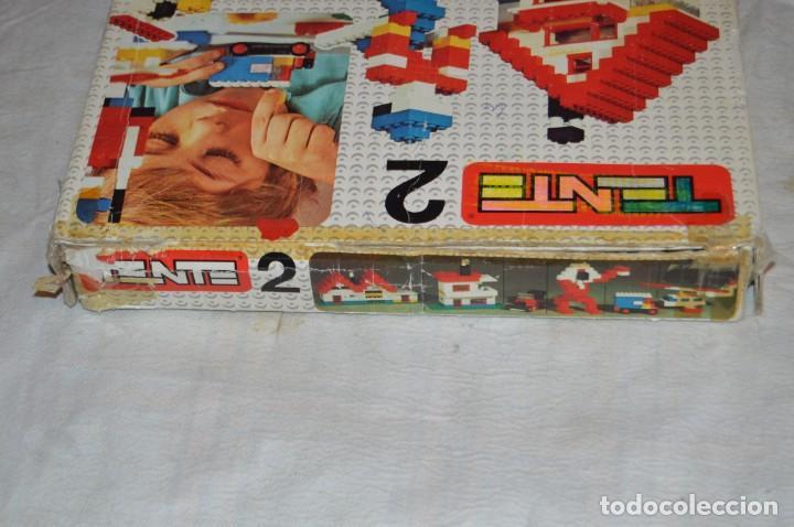 Juegos construcción - Tente: Vintage - GRAN LOTE PIEZAS Y ACCESORIOS TENTE - más CAJA vacía SET 2 REF. 0402 - EXIN MADE IN SPAIN - Foto 21 - 139175902