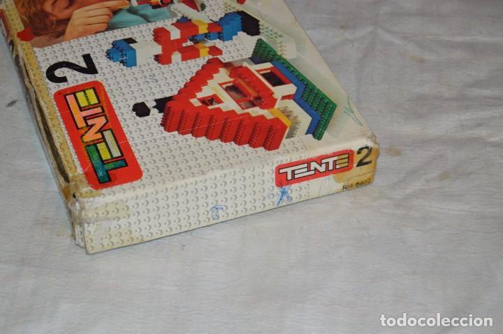 Juegos construcción - Tente: Vintage - GRAN LOTE PIEZAS Y ACCESORIOS TENTE - más CAJA vacía SET 2 REF. 0402 - EXIN MADE IN SPAIN - Foto 24 - 139175902