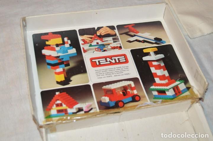 Juegos construcción - Tente: Vintage - GRAN LOTE PIEZAS Y ACCESORIOS TENTE - más CAJA vacía SET 2 REF. 0402 - EXIN MADE IN SPAIN - Foto 27 - 139175902