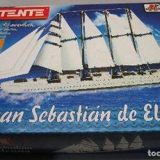Juegos construcción - Tente: TENTE BORRAS BARCO JUAN SEBASTIAN ELCANO. Lote 143644005