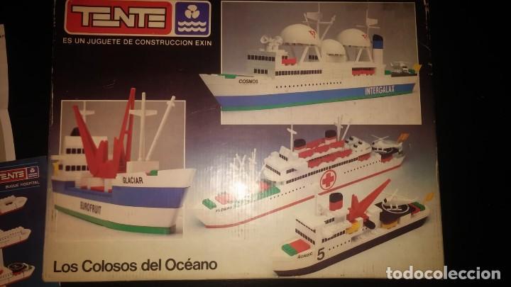 TENTE EXIN REF. 0540 LOS COLOSOS DEL OCEANO Y MUCHAS PIEZAS CATALOGOS MAS ÈPOCA NANCY (Juguetes - Construcción - Tente)
