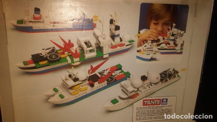 Juegos construcción - Tente: Tente Exin ref. 0540 Los Colosos del oceano y muchas piezas catalogos mas època Nancy - Foto 3 - 144338226